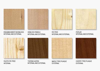 Дървен материал и покрития