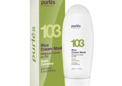 103 Оризова крем маска Rice Cream Mask