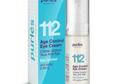 112 Подмладяващ лифтинг околоочен крем Age Control Eye Cream